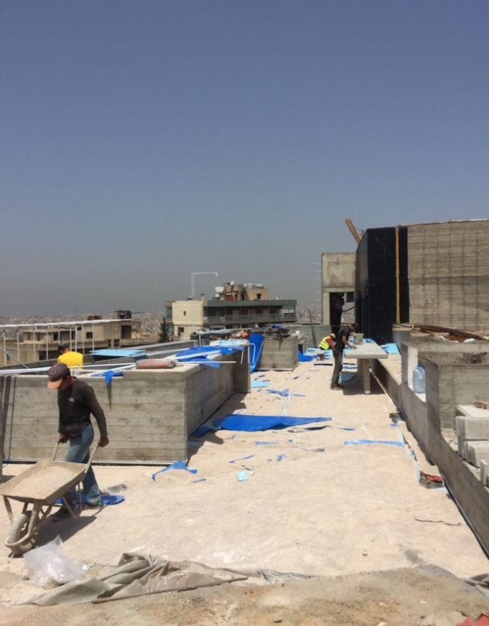 Platinum Venture Offices - The Backyard - construction phase image