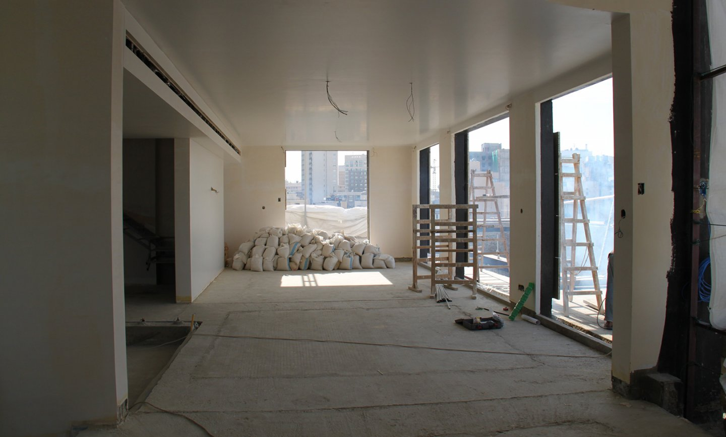M.N Apartment - construction phase image