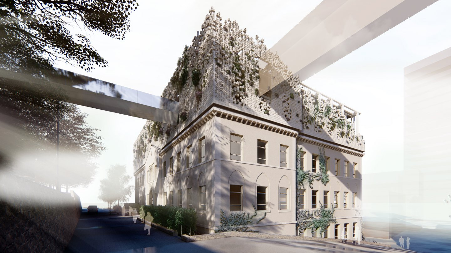 AUB Competition - Architecture Department - project overview image