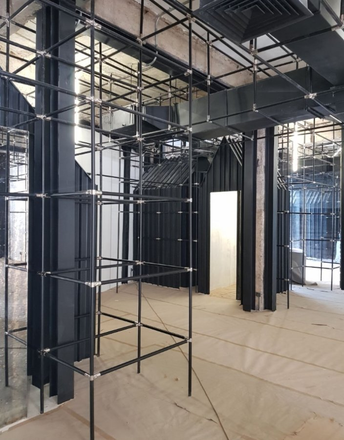Pop Up Concept Flagship Store - construction phase image