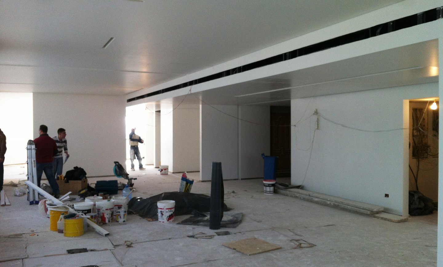 Gras Savoye Offices - construction phase image