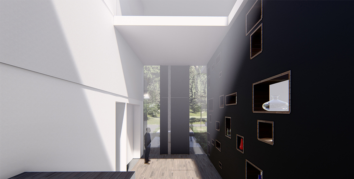 Tilted House - project overview image