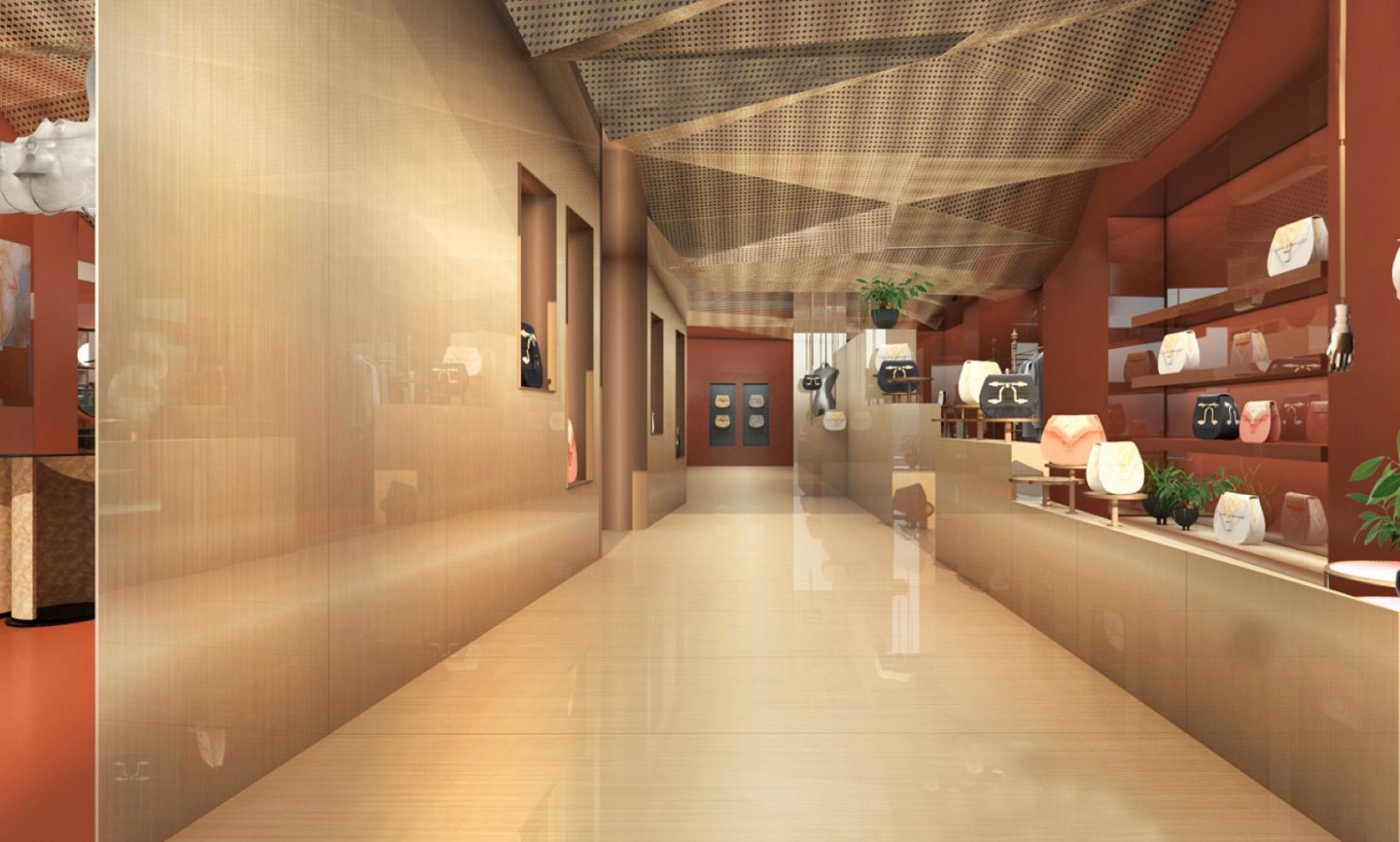 Okhtein Flagship Store - concept design image