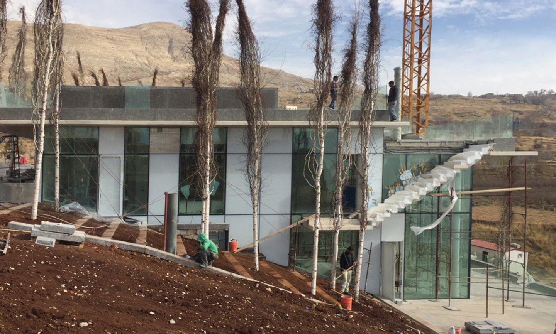 Faqra Cliff - construction phase image