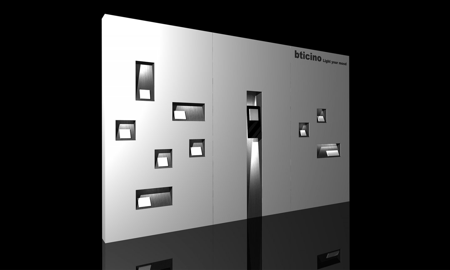 Interface Panel for Biticino - project overview image
