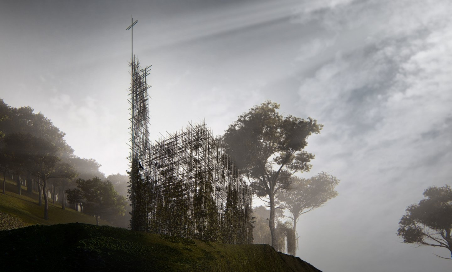 Broummana Chapel - project overview image