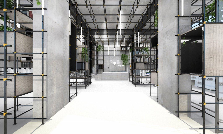 Pop Up Concept Flagship Store - concept design image