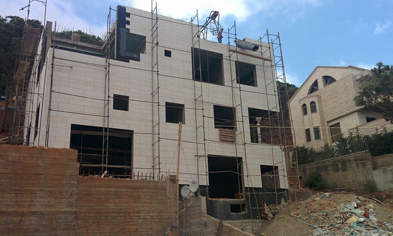 Villa Beit Mery  - construction phase image