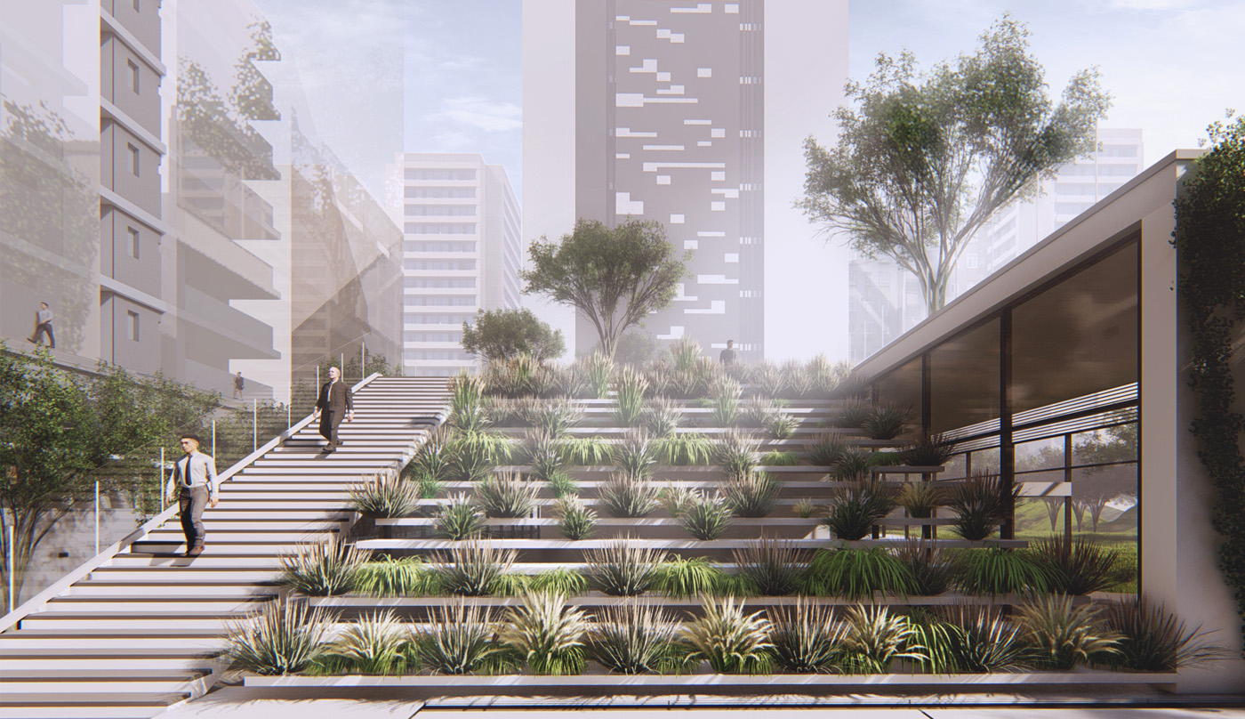 Sin el Fil Office Complex - project overview image
